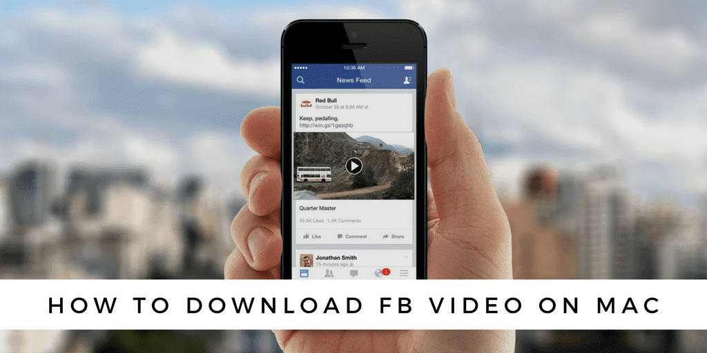 Download facebook videos without any software | for pc & mac.