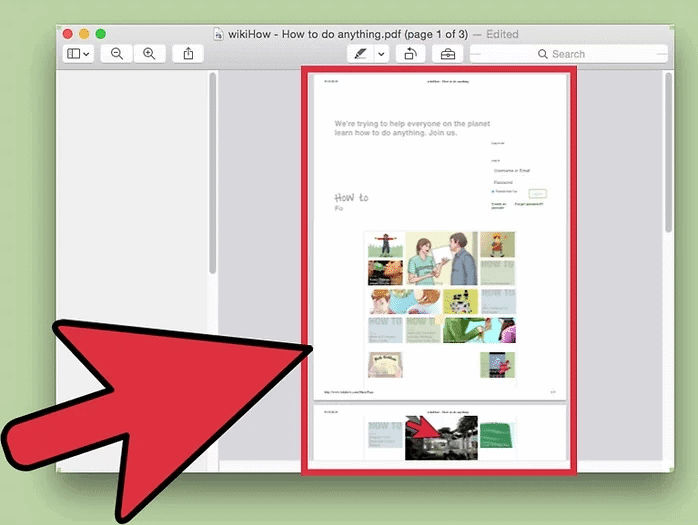 remove pages from pdf mac