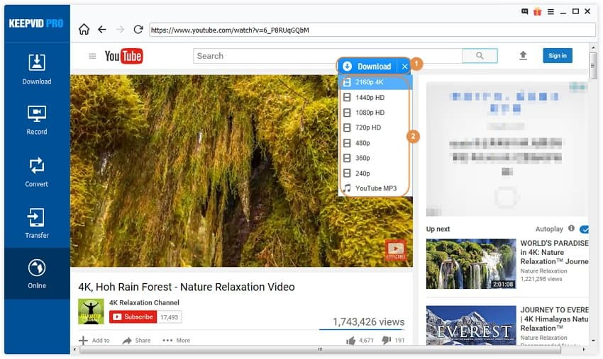 How to download youtube videos on iphone x freely step 3 checking your video download status and finding your video ccuart Images