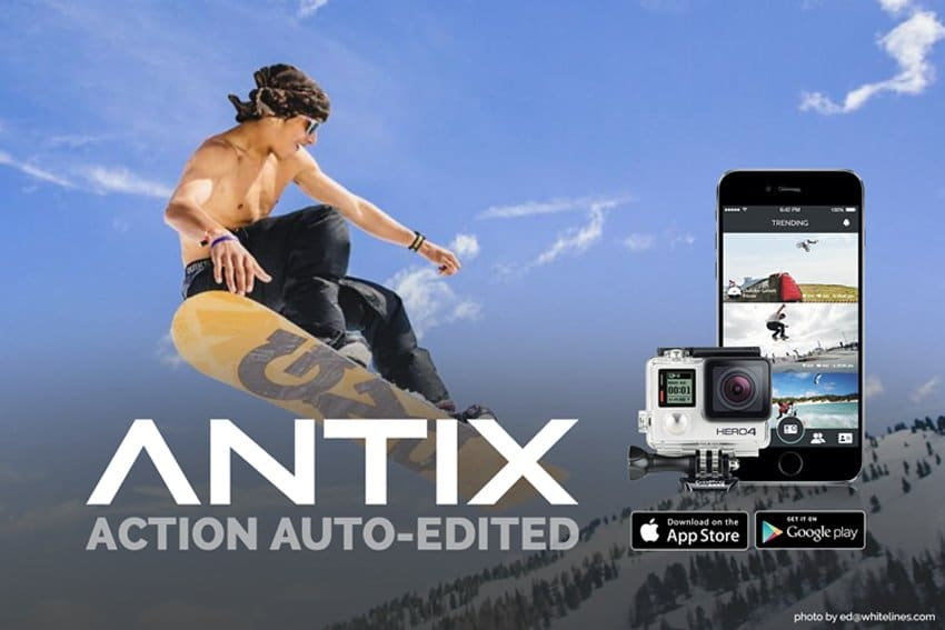 how to edit GoPro videos with Antix