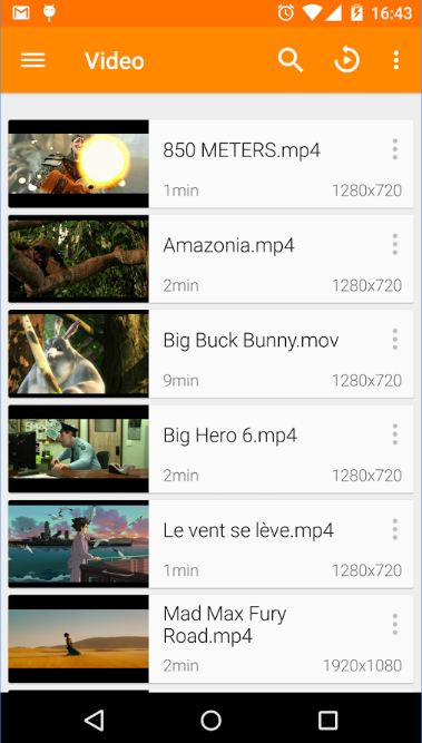 VLC FLAC player on Android