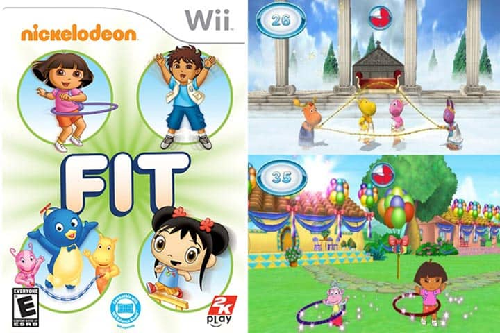 Best Wii Games for Kids - Nickelodeon Fit