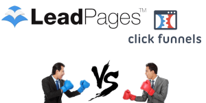ClickFunnels VS. Leadpages