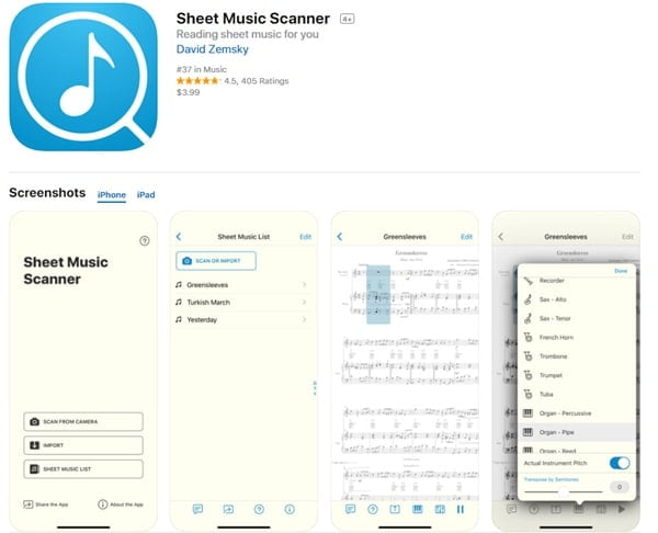 Convert PDF to Midi with Sheet Music Scanner