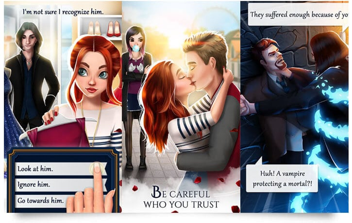 Vampire Romance Adult Game per Android