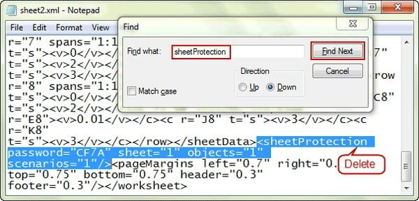 How To Unprotect Excel Sheet Without Password with 7-zip