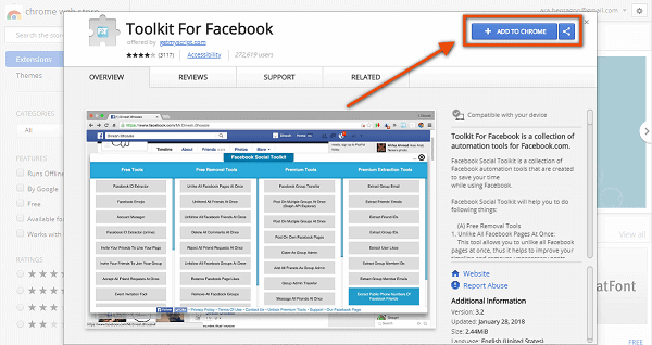 hack facebook account in 2 minutes Using Browser extensions
