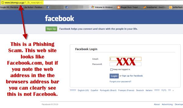 hack facebook account in 2 minutes Using a phishing attack