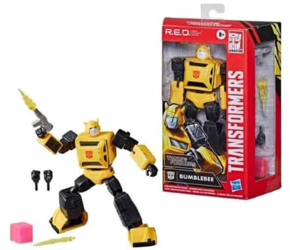 Rare Transformers Toys - BumbleBee (Red)